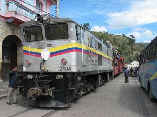 Train Ecuador