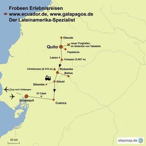 stepmap map ecuador gal pagos 1260153
