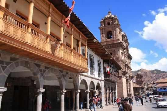 belle photo de maisons à Cuzco bas