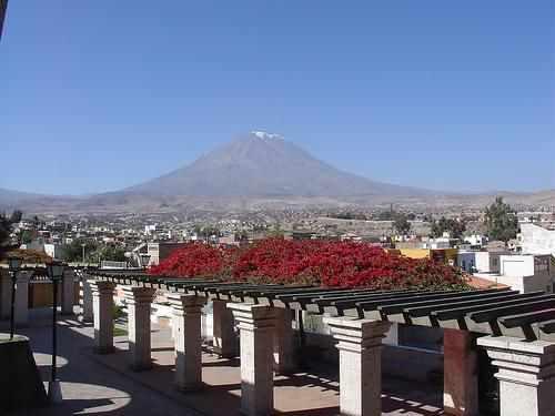 Jour 6 nouveau voyage au Pérou Arequipa bas