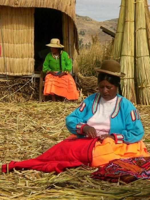 Jour 9 nouveau voyage au Pérou îles Uro bas