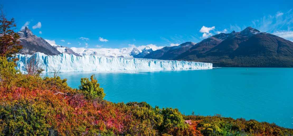 Panorama du glacier Perito Moreno en Patagonie